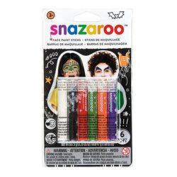 Snazaroo arcfestő kréta - halloweenra, 6x7,9 gr