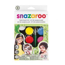 Snazaroo arcfesték készlet - unisex, 8x2 ml