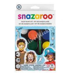 Snazaroo arcfesték készlet - fiúknak, 8x2 ml
