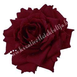 Selyemvirág, bordó, 8 cm
