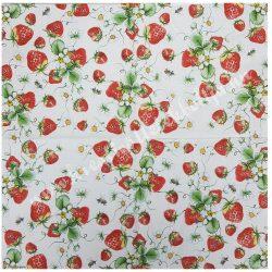 Szalvéta, gyümölcs, eper, 33x33 cm (7)