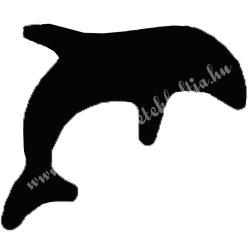 Mintalyukasztó, delfin, 25 mm