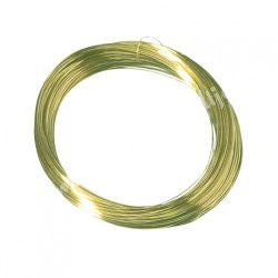 Arany színű drót, 0,8 mm