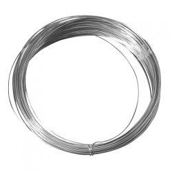 Ezüst színű drót, 0,8 mm