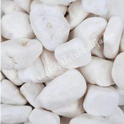 Dekorkavics, fehér, 2-4 cm, kb. 1 kg/csomag