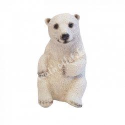 Ülő jegesmaci, kicsi