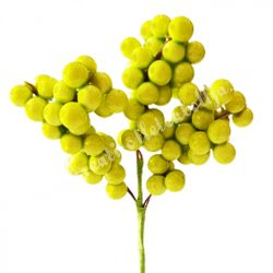 Bogyós pick, zöld, 13 cm