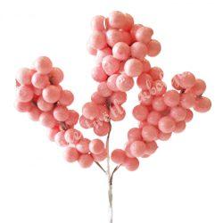 Bogyós pick, rózsaszín, 13 cm