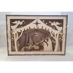 3D dekor doboz Betlehem