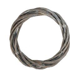 Szürke vesszőkoszorú, 16 cm