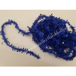 Csillag girland, kék, 7 méter