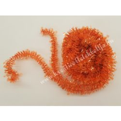 Csillag girland, narancssárga, 7 méter