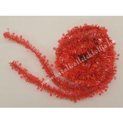 Csillag girland, piros, 7 méter