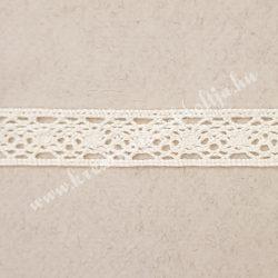 Csipke 11., ekrü, 1,5 cm