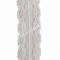 Csipke 5., fehér, 25 mm