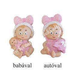 Polyresin baby, kislány, 2 féle