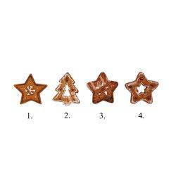 Ragasztható karácsonyi figurák, 4 féle