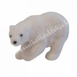 Polyresin, flokkolt jegesmaci, kicsi