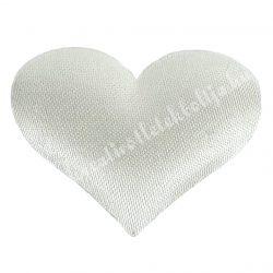 Ragasztható szív, fehér