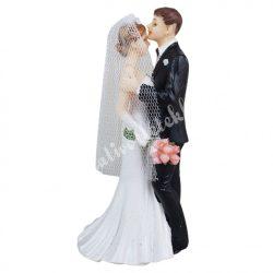 Esküvői pár, 7x14 cm
