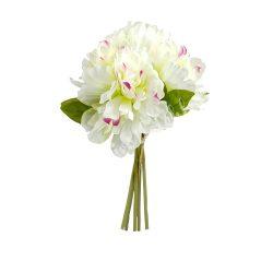 Bazsarózsa fehér-rózsaszín, 5 szál/csokor