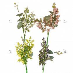 Pick eukaliptusz ággal, 4 féle színben