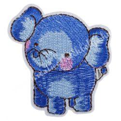 Vasalható matrica, elefánt, 5,5x5,7 cm