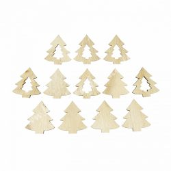 Fa fenyő natúr (1 csomag/12 darab)