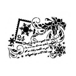 Stencil 11., Karácsony, A4