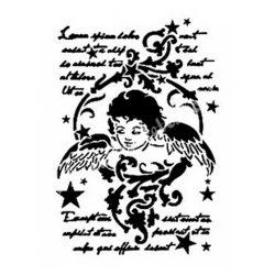 Stencil 178., Angyal, A4