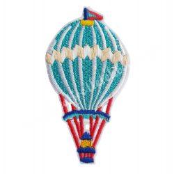 Vasalható matrica, hőlégballon, 4,5x8 cm