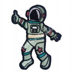 Vasalható matrica, űrhajós, 8,5x11 cm