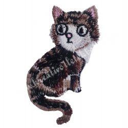 Vasalható matrica, cica, 5,5x8,7 cm