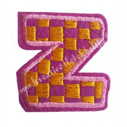 Vasalható matrica, Z betű, 3,5x4 cm
