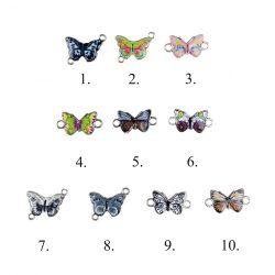 Fémmedál, Pillangó, 10 féle