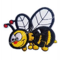 Vasalható matrica, méhecske, 7x5 cm