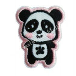 Vasalható matrica, panda, 4x5 cm