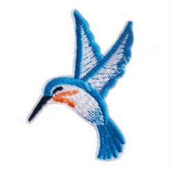 Vasalható matrica, kolibri, 5,5x7 cm