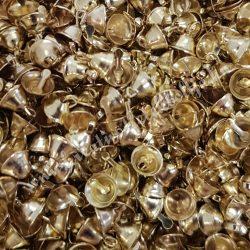 Csengő, arany színű, 0,5 cm