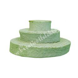 Fakorong, zöld, 3/4/6 cm