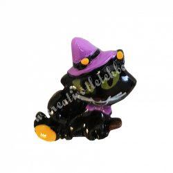 Ragasztható figura, macska kalapban