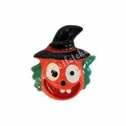 Ragasztható figura, tök bohóc, kalapban