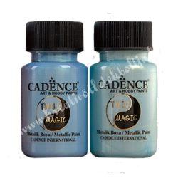 Cadence kétszínű irizáló metálfesték 50 ml
