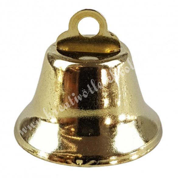 Arany színű csengő, 1,8x1,8 cm