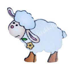 Fa ragasztható bárány, 3x4 cm