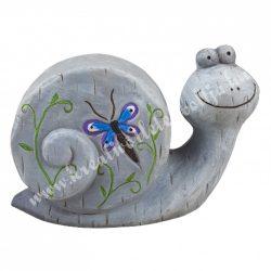 Kerámia csiga, 18x12 cm