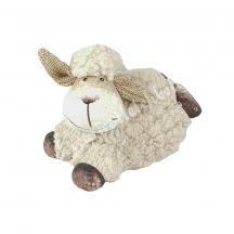 Bolyhos, fekvő bárány, bézs