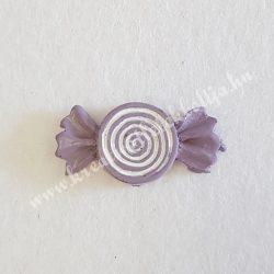 Ragasztható  lila cukorka