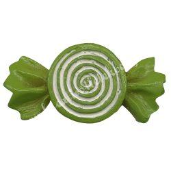 Ragasztható zöld cukorka