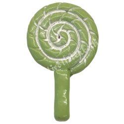 Ragasztható zöld nyalóka
